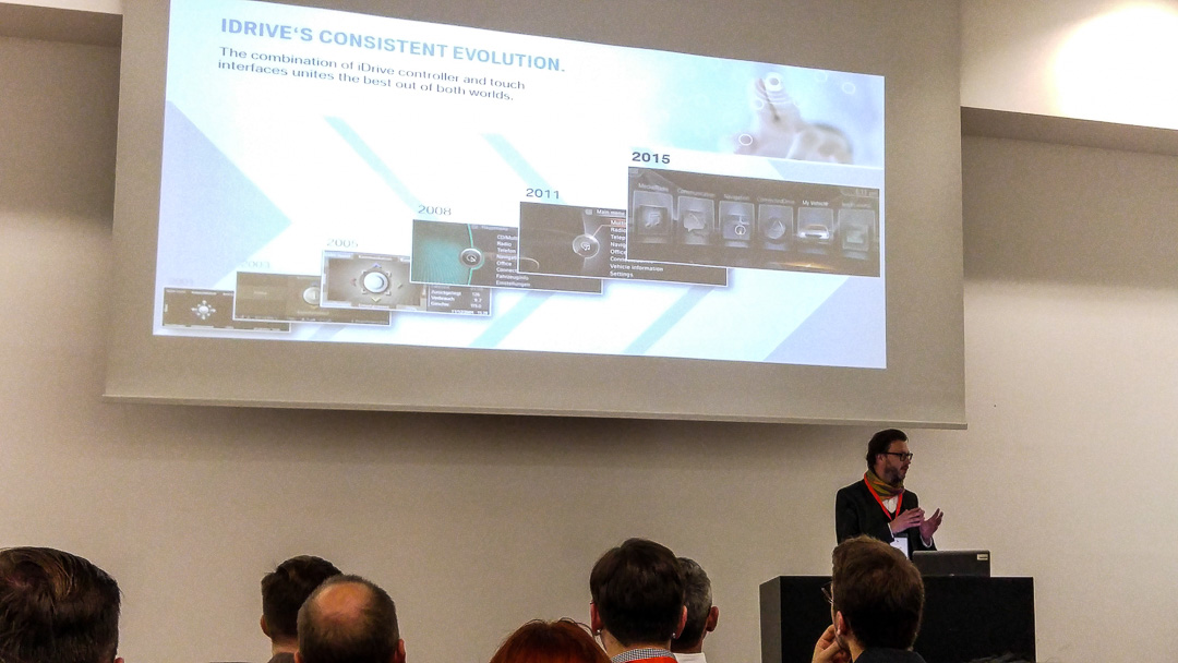 Andreas Keinath: User oriented evolution. The HMI of the new BMW 7 series #bmw #wuc16