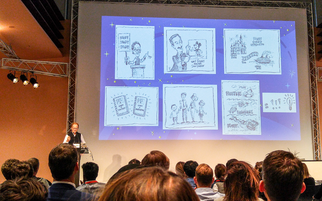 Joe Lanzisero: Designing Experiences Through Story #disney #wuc16