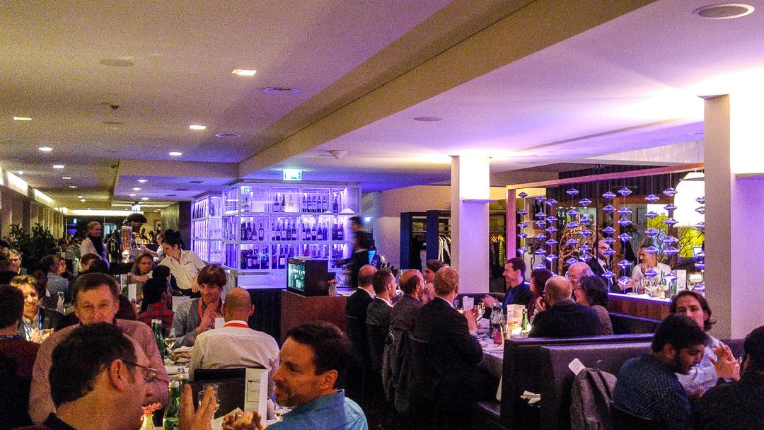 Gala Dinner at Schlossberg Restaurant #wuc16