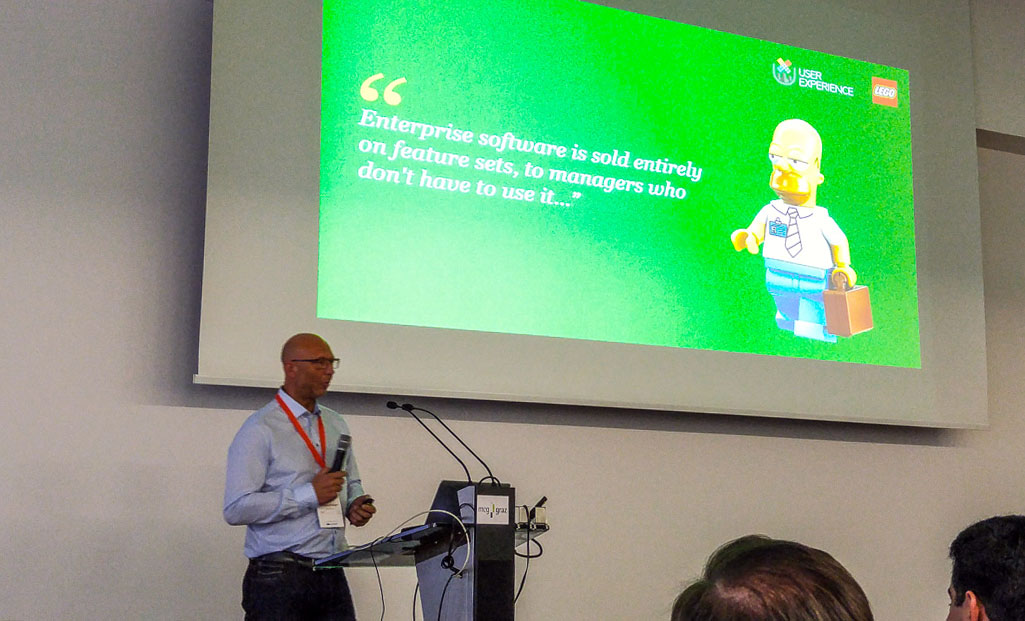 Fritz Øhlenschlæger: Implementing Enterprise UX atLego #wuc16