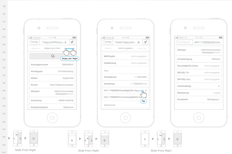 iOSApp Sketching Screenshot